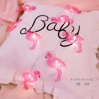 Luminária de Flamingo *-*