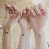Ideias de tattoos para fazer com sua irmã/amiga/prima