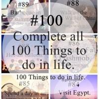 100 coisas para fazer na sua vida